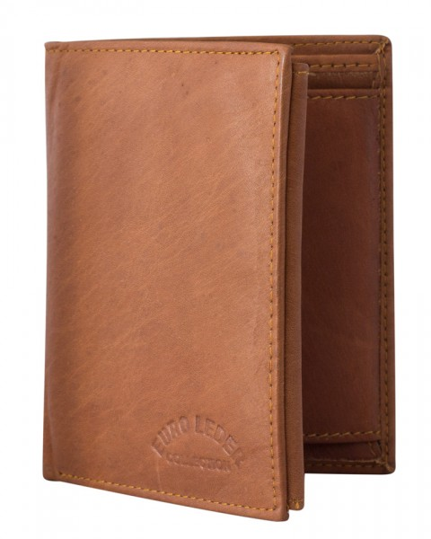 Einfache Herrengeldbörse aus Leder