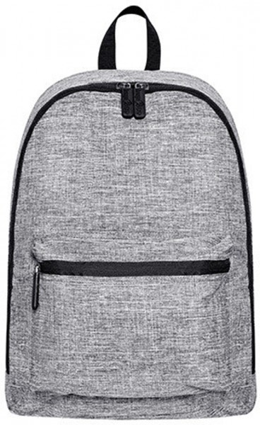 Daypack – Manhattan (BS15273) Polyester Rucksack in Grey Melange
