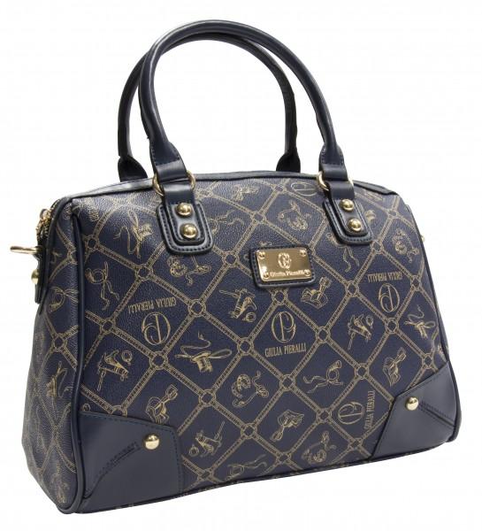 Giulia Pieralli Damen Handtasche Damentasche 2622B in Blau