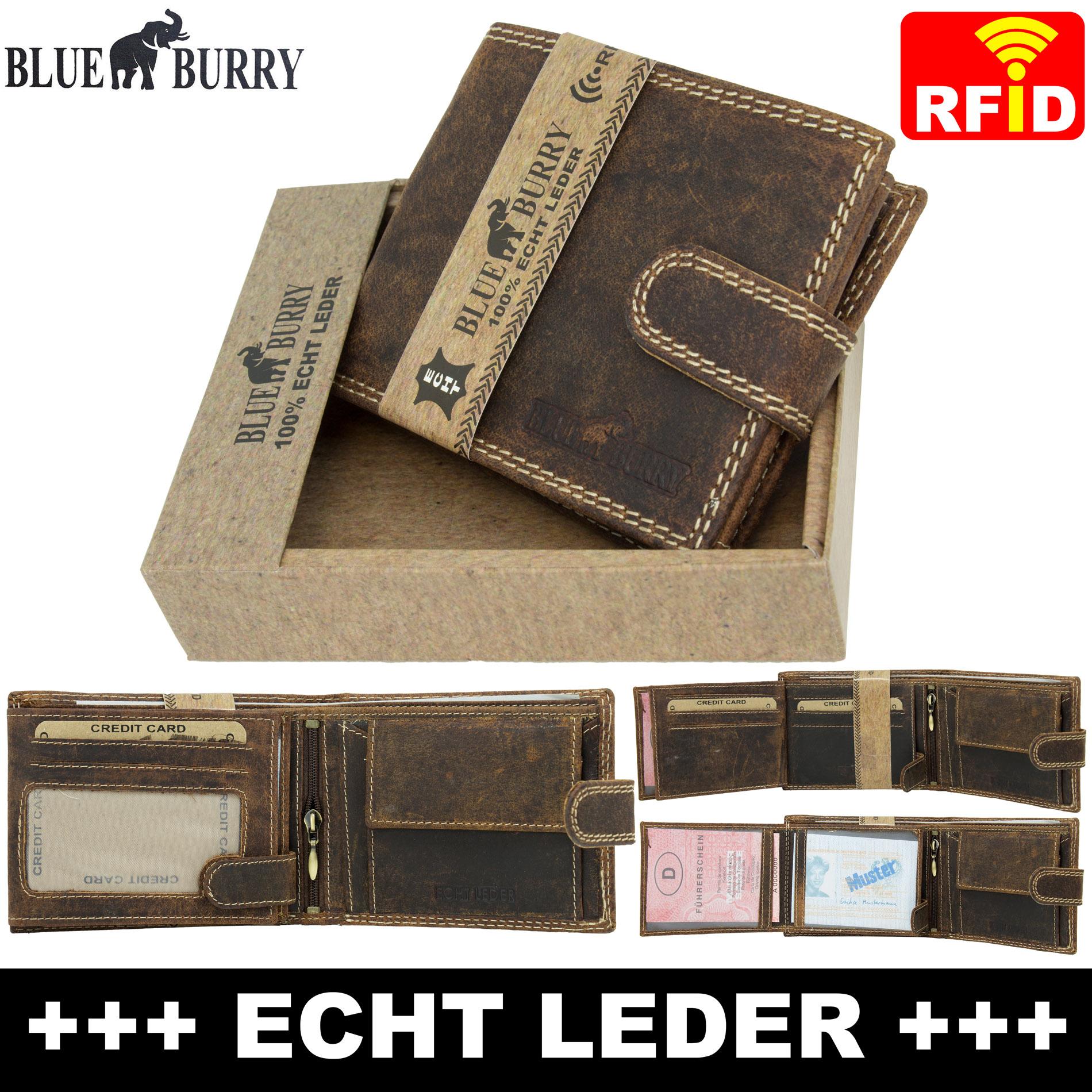 9132384fb41d2 ... Vorschau  Premium Herren Portemonnaie aus Leder mit RFID-Schutz RF-02-L